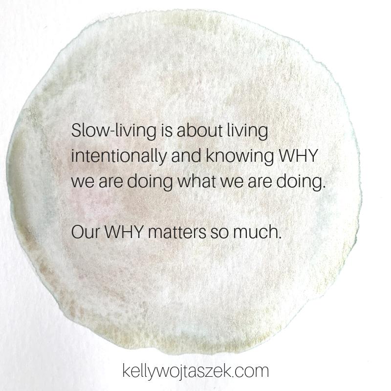 Slowing down in a busy season