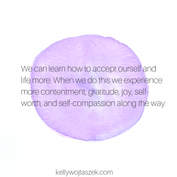 7 benefits of practicing acceptance